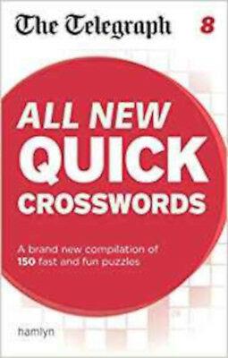 The Telegraph: All New Quick Crosswords 8 (The Telegraph Puzzle Books), New, THE