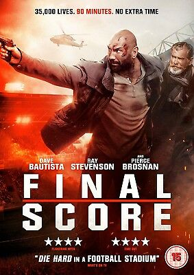 Final Score [DVD] [2018] DAVE BAUTISTA. AVAILABLE TODAY, IN TIME FOR CHRISTMAS!!