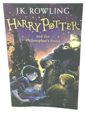 Harry Potter and the Philosopher's Stone - J.K. Rowling - Paperback Book
