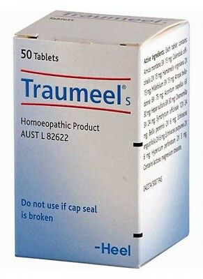 Heel Traumeel 50T - Natural Anti-Inflammatory For Soft Tissue Trauma