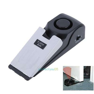 Portable Home Travel Hotel Door Stop Alarm Wireless Safety Security Alert Device