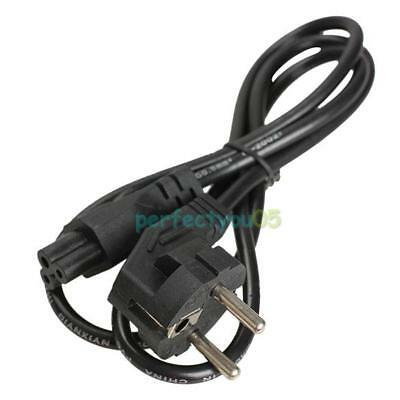 1m EU AC Power Cord Cable 3 Prong 2 Pin EU Plug for Laptop PC Adapters Charger