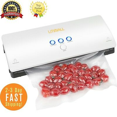 Commercial Food Saver Vacuum Sealer Machine Sealing System Preservation Storage