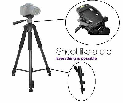 """For Canon EOS Rebel T5i SL1 T6i T6s Heavy Duty 75"""" Professional Tripod with Case"""
