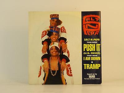 "SALT 'N' PEPA,PUSH IT,EX/EX,2 Track, 7"" Single, Picture Sleeve,FFRR"