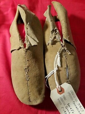 Authentic Sac Fox Moccasins 1870. Pohrt Collection. MAKE AN OFFER!!
