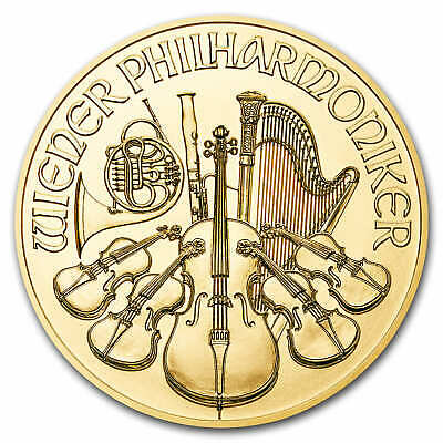 2019 Austria 1 oz Gold Philharmonic BU - SKU#171341