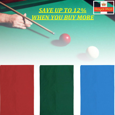Accessories Felt  Pool Table Cloth Entertainment For 7ft 8ft Billiard Table