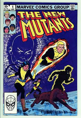 New Mutants 1 - 2nd Appearance of Team - Movie Coming - 9.2 NM-