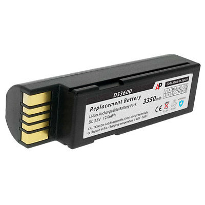 Replacement Battery for Zebra Scanners DS3678, LI3678 and LS3678. 3350 mAh