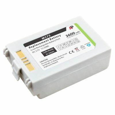Replacement White Battery for Motorola MC75 & MC70 Series. 3600mAh Extended
