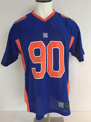 United States Coast Guard Jersey Football Style #90 Size M Fire For Effect