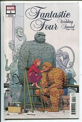 Fantastic Four: Wedding Special #1 Marco Martin Variant Cover - Marvel - 1/25