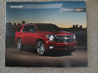 2017 Chevrolet Tahoe  Brochure 28 Pages Brochure New And Cool