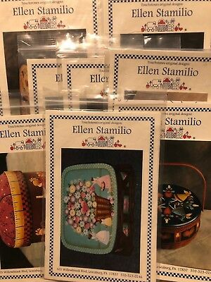 Tole Painting Pattern Instruction Packets - Ellen Stamilio - YOU PICK