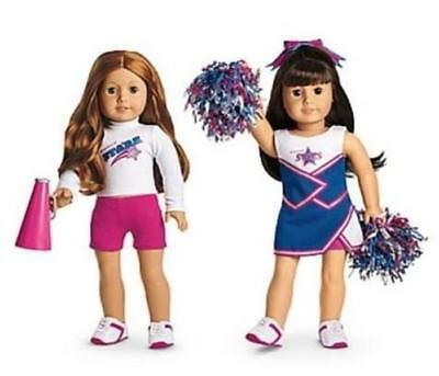American Girl 2 In 1 Cheer Gear ~ New In Box ~ Complete ~ Free Ship Usa