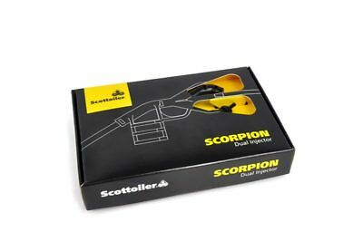 Scottoiler Scorpion -Updated Dual-Injector Add on Kit for Vsystem Esystem & Mk 7