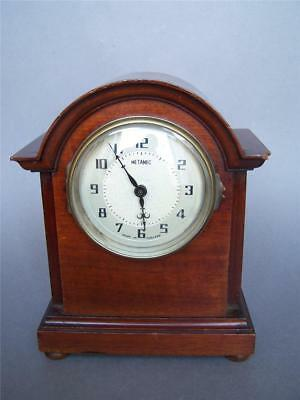 ANTIQUE Mahogany Mantle Clock Case - NOT WORKING (6)
