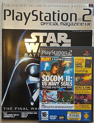 Official Playstation 2 Magazine #45 - April 2004 with Demo Disc - OPSM2