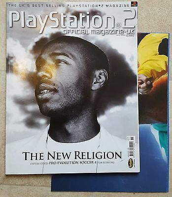 Official Playstation 2 Magazine #52 - November 2004 with Poster - OPSM2
