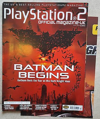 Official Playstation 2 Magazine #54 - Christmas 2004 with Poster - OPSM2