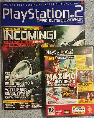 Official Playstation 2 Magazine #43 - February 2004 with Demo Disc - OPSM2