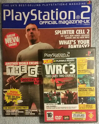 Official Playstation 2 Magazine #42 - January 2004 with Demo Disc - OPSM2