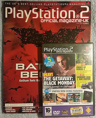 Official Playstation 2 Magazine #54 - Christmas Xmas 2004 with Demo Disc - OPSM2