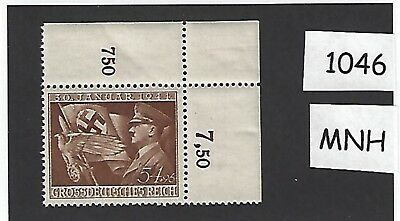 #1046 MNH 1944 Stamp / Adolph Hitler / 10th anniversary of Nazi's assuming Power