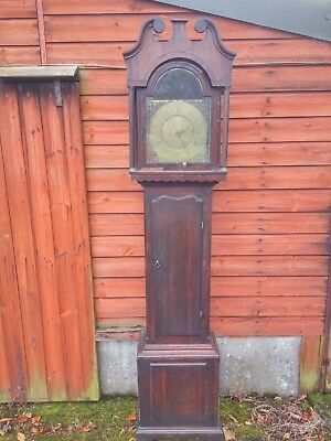 Antique J Wilson Askrigg Long case grandfather clock 18th century