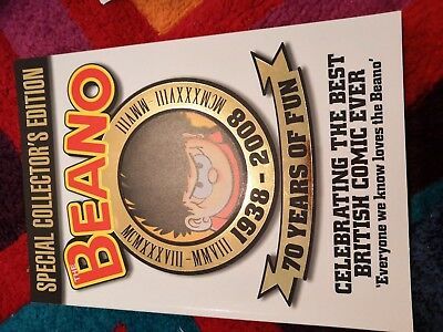 The Beano Magazine Special Collector's Edition Book 1938-2008
