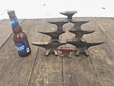 8-Mini Blacksmith Anvil Jewelers Anvils,Bronze,Advertising/Salesman Small anvil