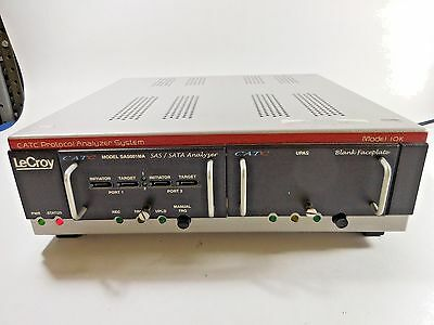 LeCroy CATC Protocol Analyzer System Model 10X w Model SAS001MA analyzer