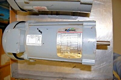 Boston PM975TF-B, 34-5980-3662 Continuous Duty Motor (90V, 3/4HP, 7.6A, 1750RPM)