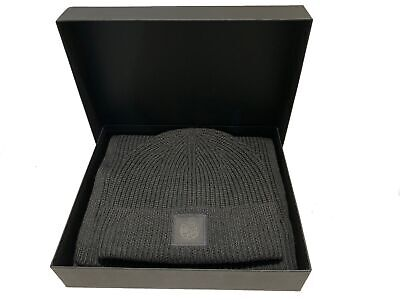 Pretty Green Gift Set Ribbed Beanie and Scarf Collection - Grey