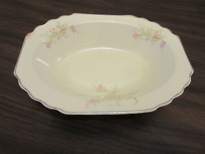 W S George Canarytone Vintage Serving Dish -- 187 A -- Serving Bowl