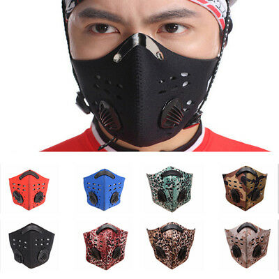 Anti-dust Anti-Pollution Mask Half Face Cycling Scarf Mouth-Muffle Respirator