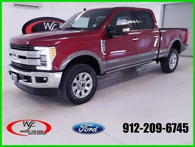 2019 Ford F-350 King Ranch 2019 King Ranch New Turbo 6.7L V8 32V Automatic 4WD Pickup Truck Moonroof