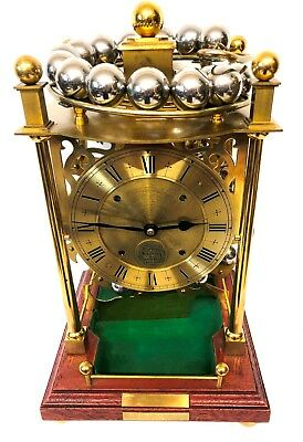 Vintage Harding and Bazeley Spherical Weight Rolling Ball Clock Cheltenham