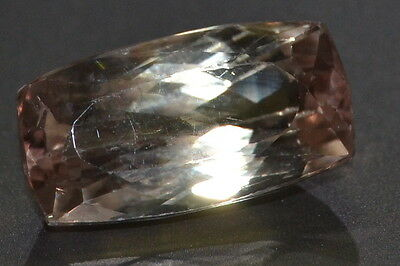 Gorgeous 14.57ct VS Peach Natural Untreated Afghan Kunzite Gemstone