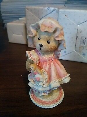 """Cherished Teddies """"Holding on to Someone Special"""" 1993 EXCELLENT CONDITION"""