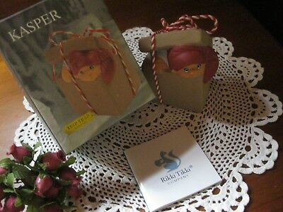 BNIP Trip Trap Miniatures By Rikki Tikki,KASPER The Pixie Ornament/Figurine.