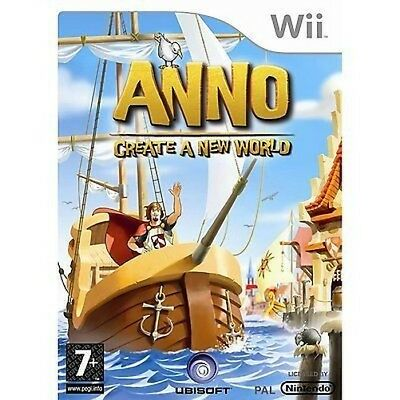 Nintendo Wii Game Anno: Create a New World