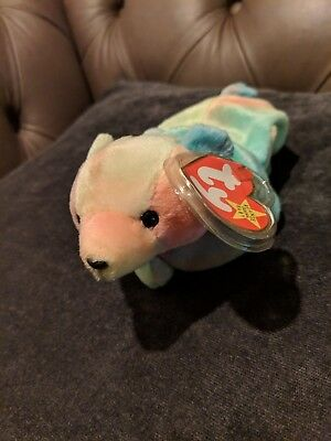 TY Beanie Babies Sammy June 23rd 1998 With Tag Original Plush Soft Toy Baby e28649eafee8