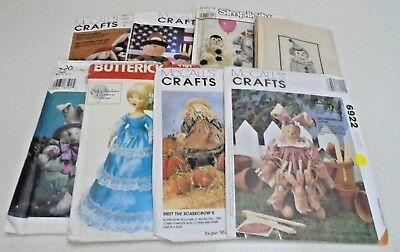 McCall's Simplicity Ass Stuffed Animal or Doll Toy Sewing Pattern You Pick UNCUT