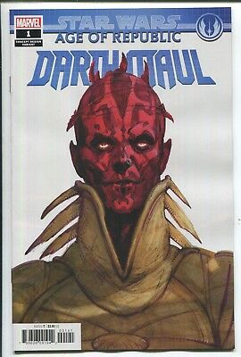 Star Wars: Age Of Republic - Darth Maul #1 - Mike Mckone Variant Cover - 2018