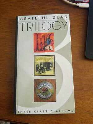 Grateful Dead Trilogy - 3 Classic Albums in CD Box Set - RARE & Like New