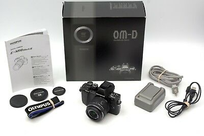 Olympus OM-D E-M10 Mark II Camera & 14-42mm II R Lens Kit  Excellent Condition