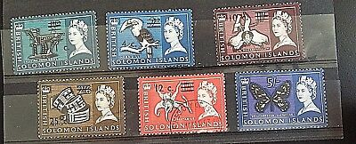 Solomon Islands   Stamps..6    Qe   Very Fine Mint/hinged--1 Used