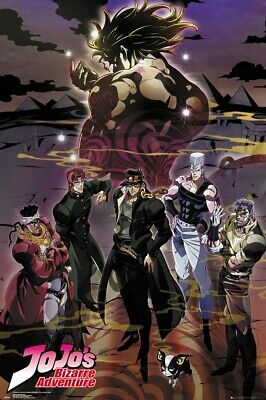 Jojo's Bizarre Adventure - Manga / Anime Tv Show Poster / Print (Group)